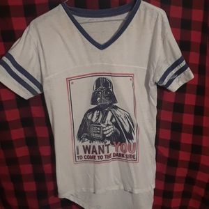 Womens medium Darth Vader shirt